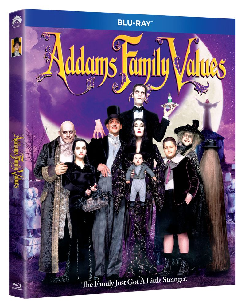 <strong><em>Addams Family Values</em></strong> blu-ray 2019