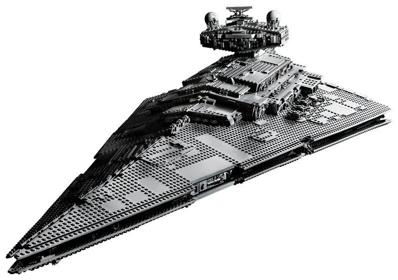 Star Wars Star Destroyer Lego Set Image #2