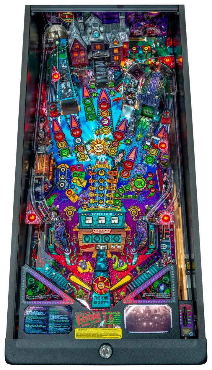 Elvira's House of Horrors Pinball machine by Stern #5