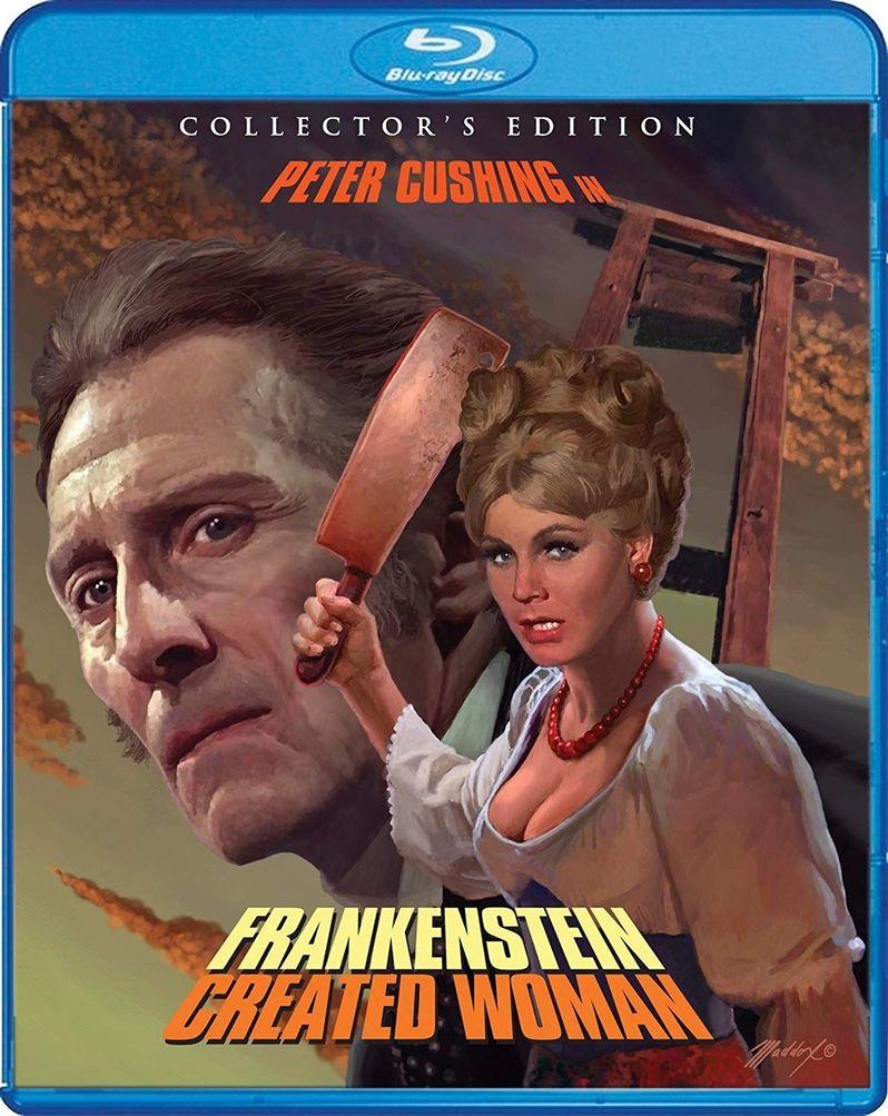 <strong><em>Frankenstein Created Woman</em></strong> blu-ray art