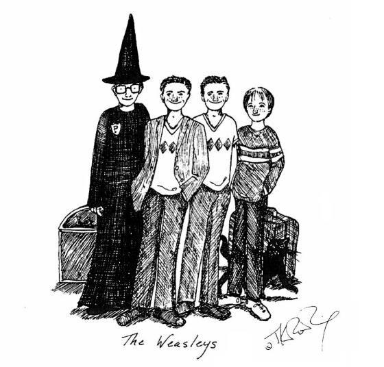 Harry Potter Sketch 6