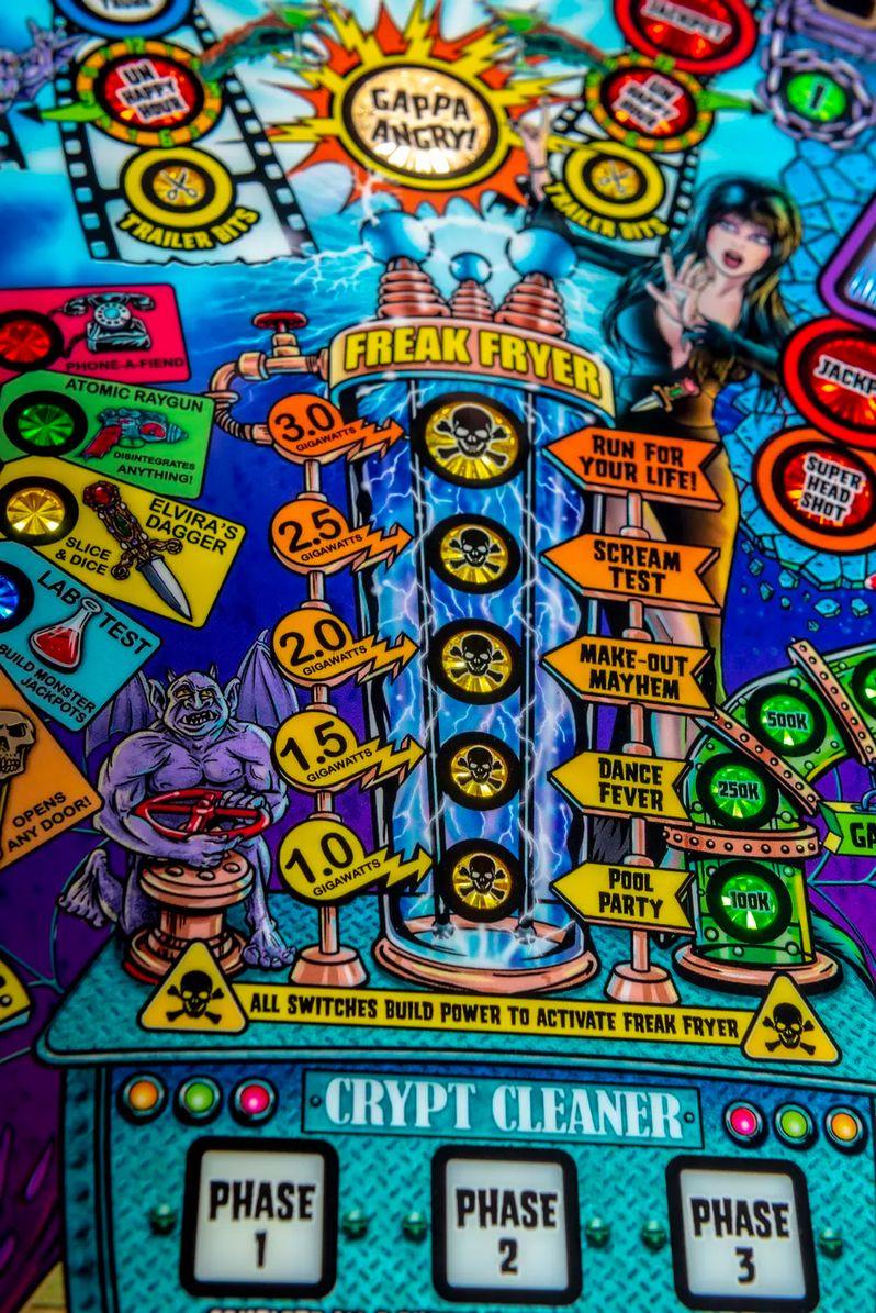 Elvira's House of Horrors Pinball machine by Stern #8