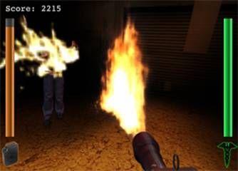 <strong><em>The Thing</em></strong> Flamethrower Game Screenshot 3
