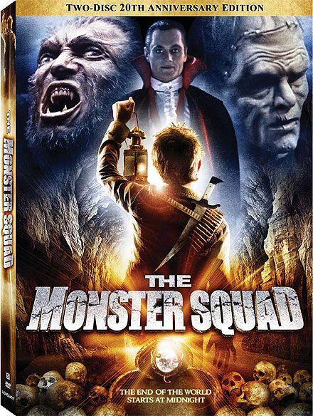 Monster Squad DVD Art