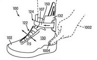 Nike's Self-Lacing Shoe Image