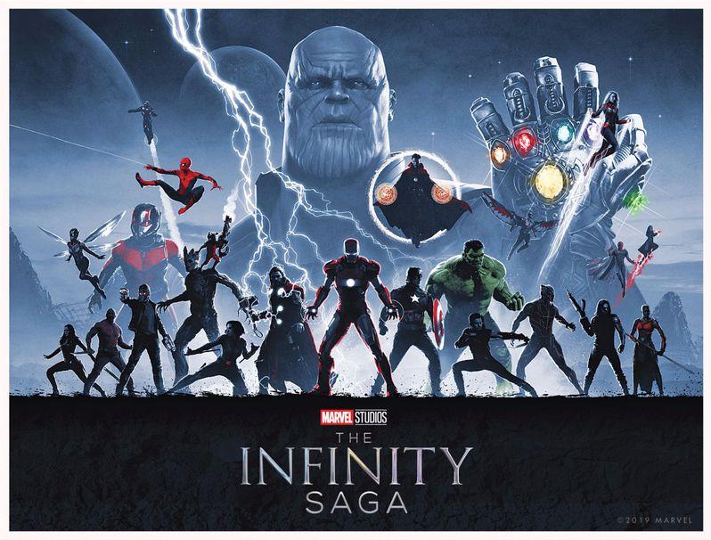 Infinity Saga Box Set Cover Art