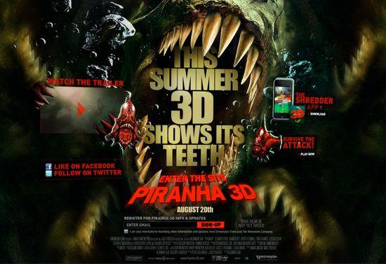<strong><em>Piranha 3D</em></strong> Official Movie Site
