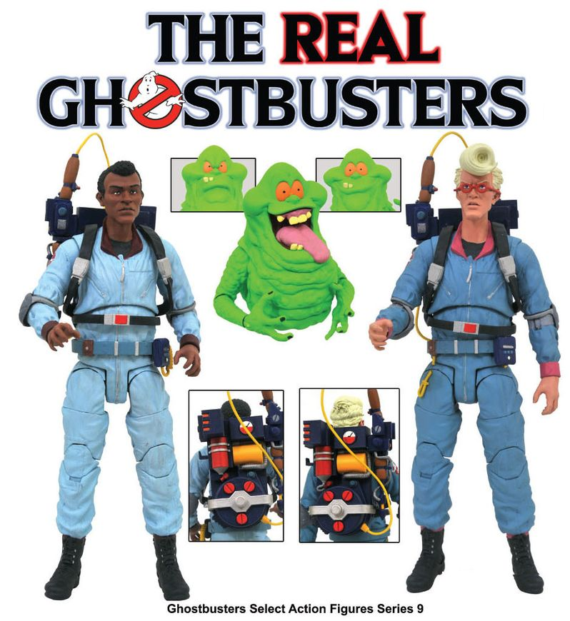 The Real Ghostbusters toys Diamond Select #2