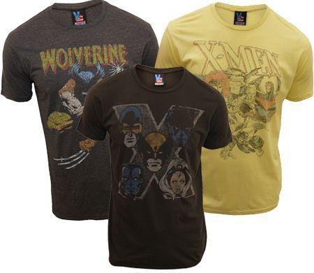 Retro X-Men T-Shirts giveaway