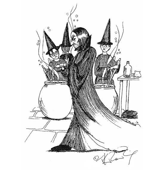 Harry Potter Sketch 1
