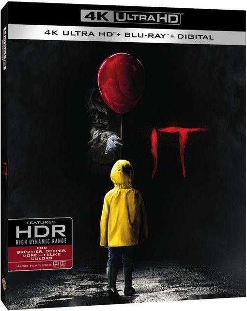 <strong><em>IT</em></strong> Blu-ray 4K artwork