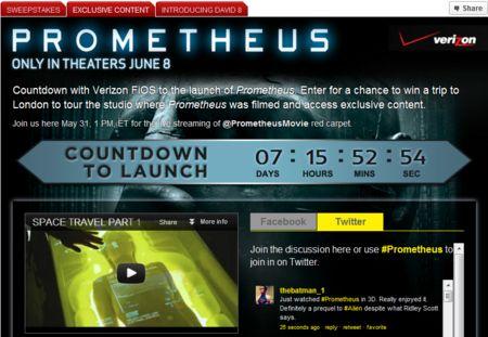 <strong><em>Prometheus</em></strong> Red Carpet Launch