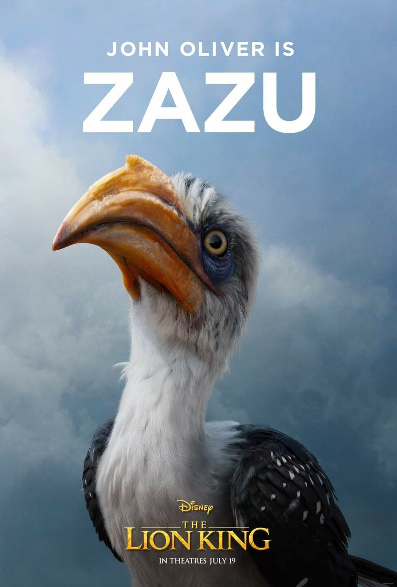 <strong><em>The Lion King</em></strong> Poster Zazu