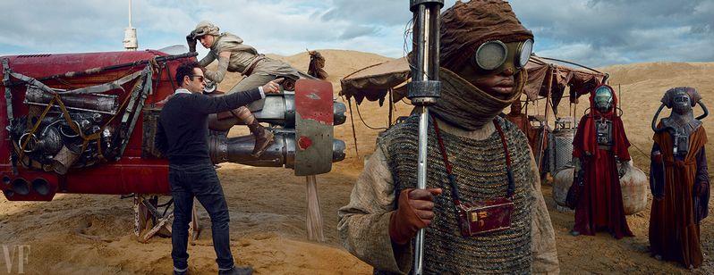 Star Wars The Force Awakens Daisy Ridley JJ Abrams