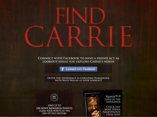 <strong><em>Carrie</em></strong> website photo