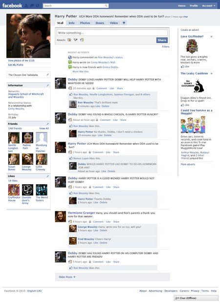 Harry Potter Facebook Image
