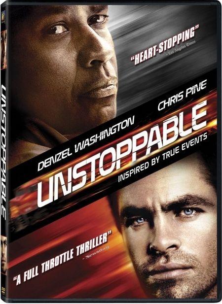 <strong><em>Unstoppable</em></strong> DVD artwork