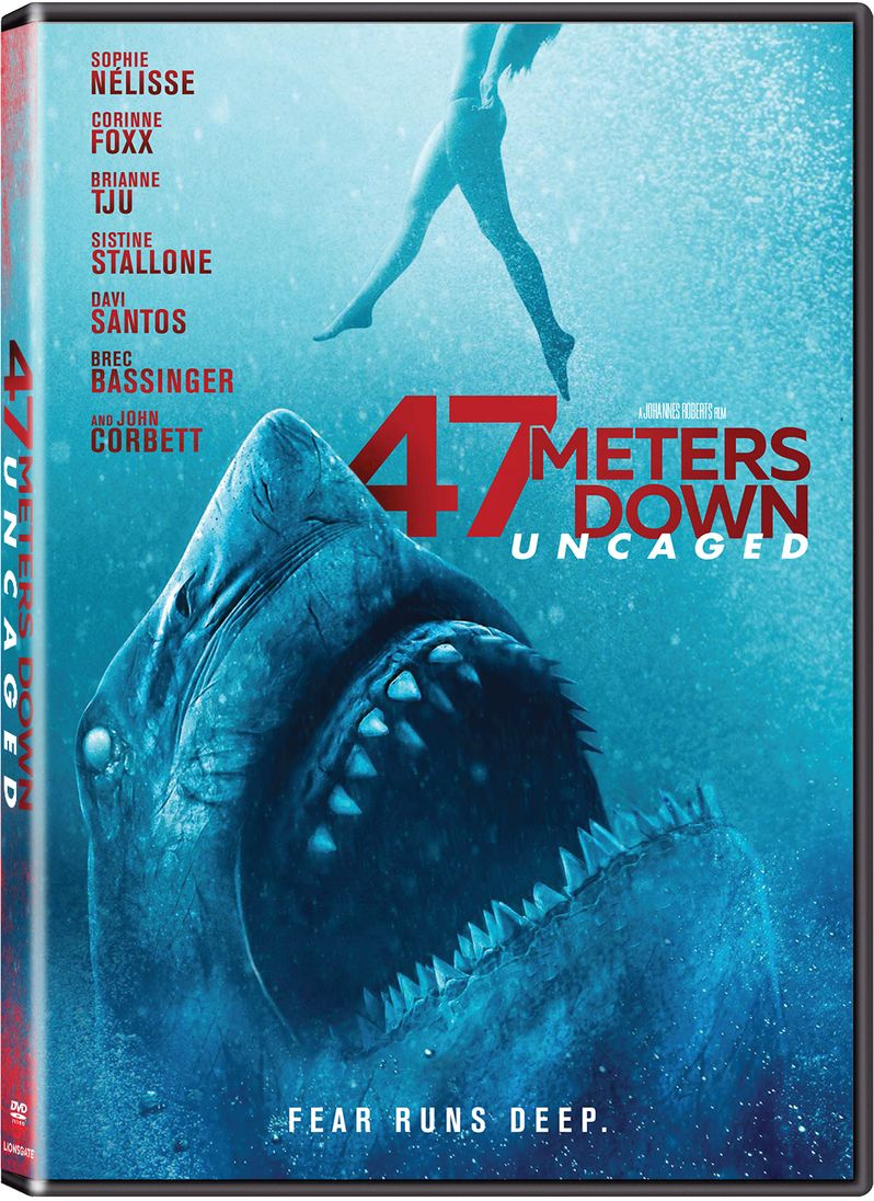<strong><em>47 Meters Down: Uncaged</em></strong> DVD