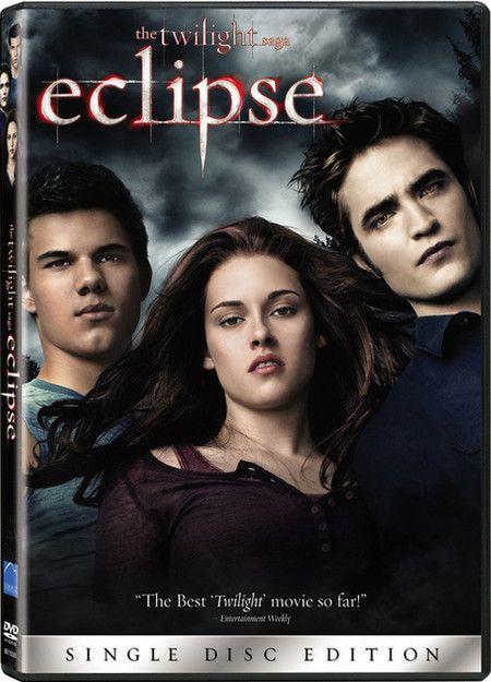 <strong><em>The Twilight Saga: Eclipse</em></strong> DVD artwork