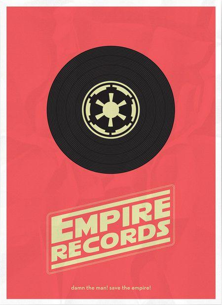 Empire Records Mashup Poster