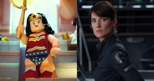 Cobie Smulders as Wonder Woman