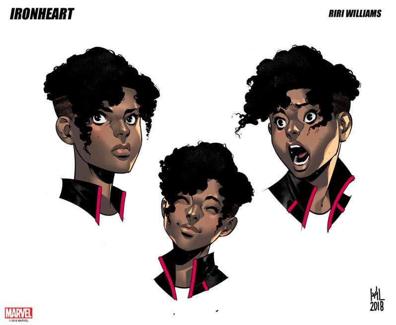 Marvel <strong><em>Ironheart</em></strong> comic book preview image #7