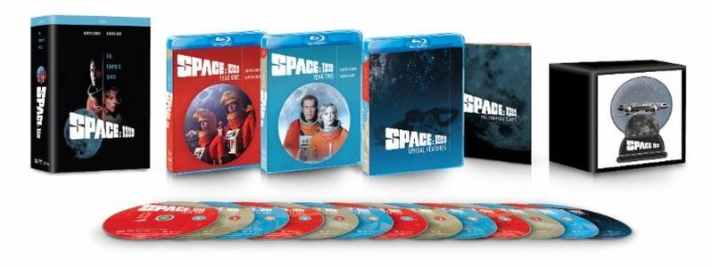 <strong><em>Space: 1999</em></strong> Complete Series Blu-ray DVD