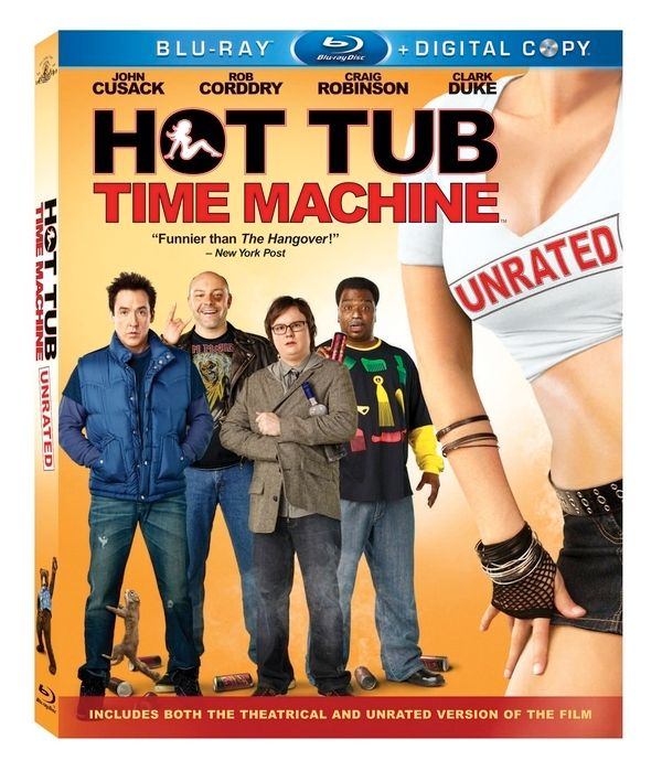 <strong><em>Hot Tub Time Machine</em></strong> Blu-ray cover