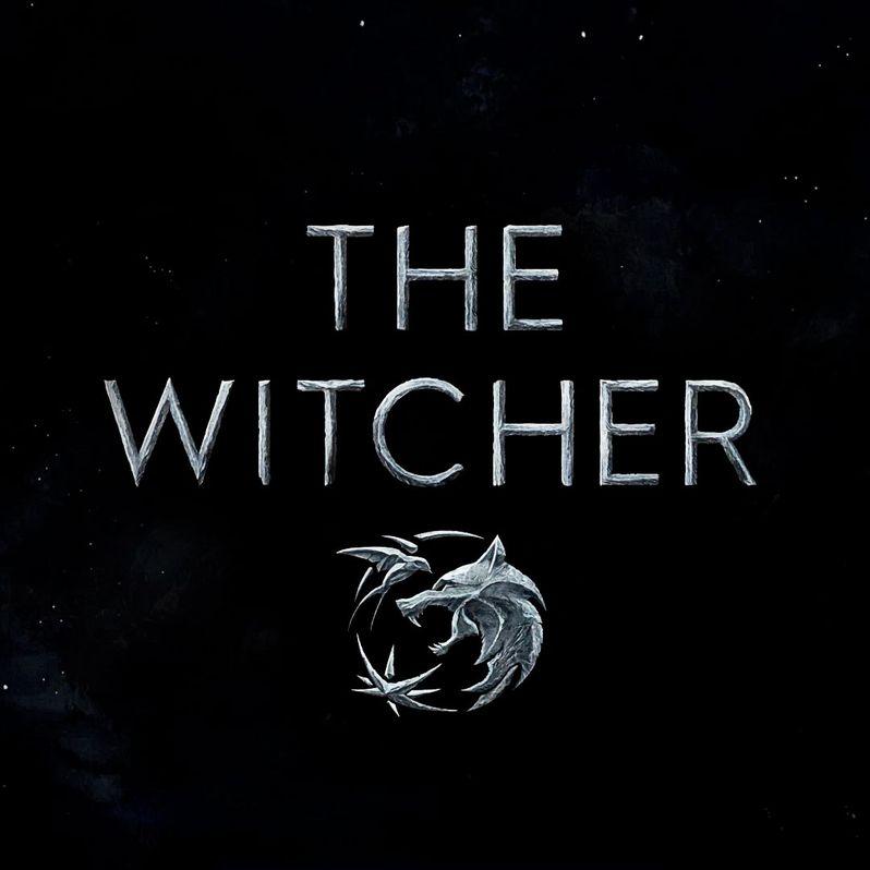 <strong><em>The Witcher</em></strong> Logo Poster