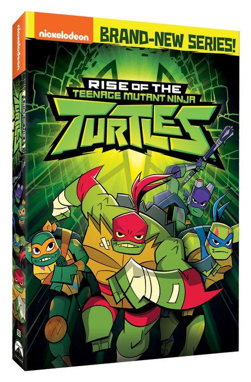 <strong><em>Rise of the Teenage Mutant Ninja Turtles</em></strong> DVD