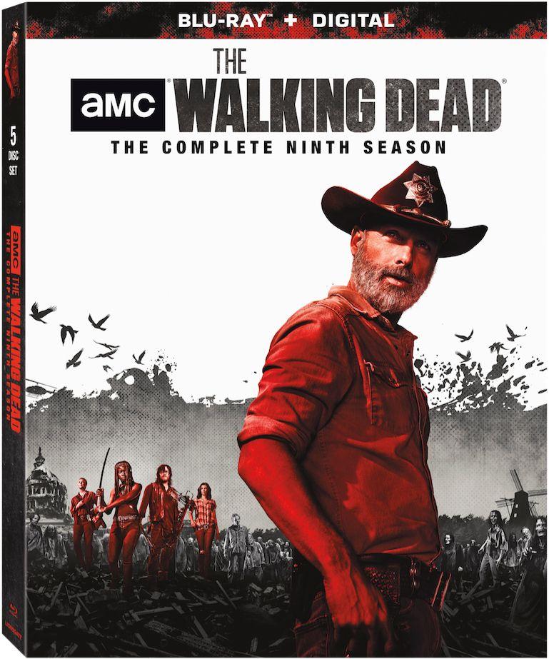 <strong><em>The Walking Dead</em></strong> season 9 Blu-ray