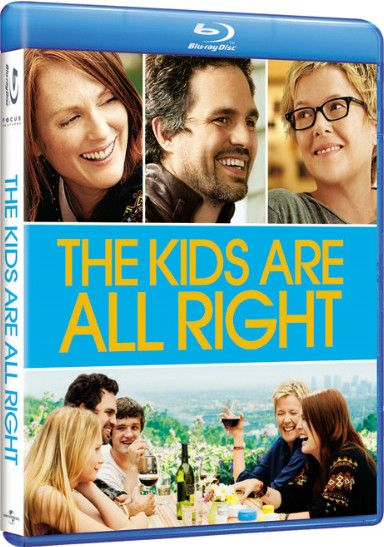<strong><em>The Kids Are All Right</em></strong> Blu-ray artwork