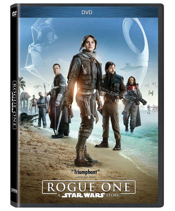 <strong><em>Rogue One: A Star Wars Story</em></strong> DVD Artwork