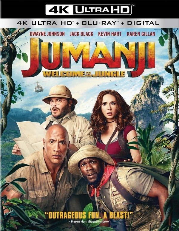 Jumanji: Welcome to the Jungle Blu-ray & DVD Release Date