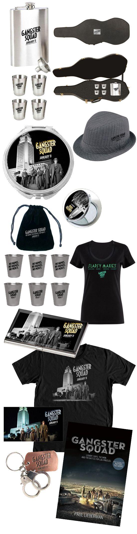 <strong><em>Gangster Squad</em></strong> Prizes
