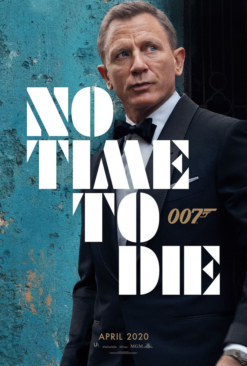 <strong><em>No Time to Die</em></strong> poster