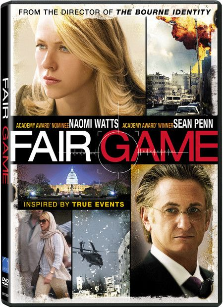 <strong><em>Fair Game</em></strong> DVD artwork