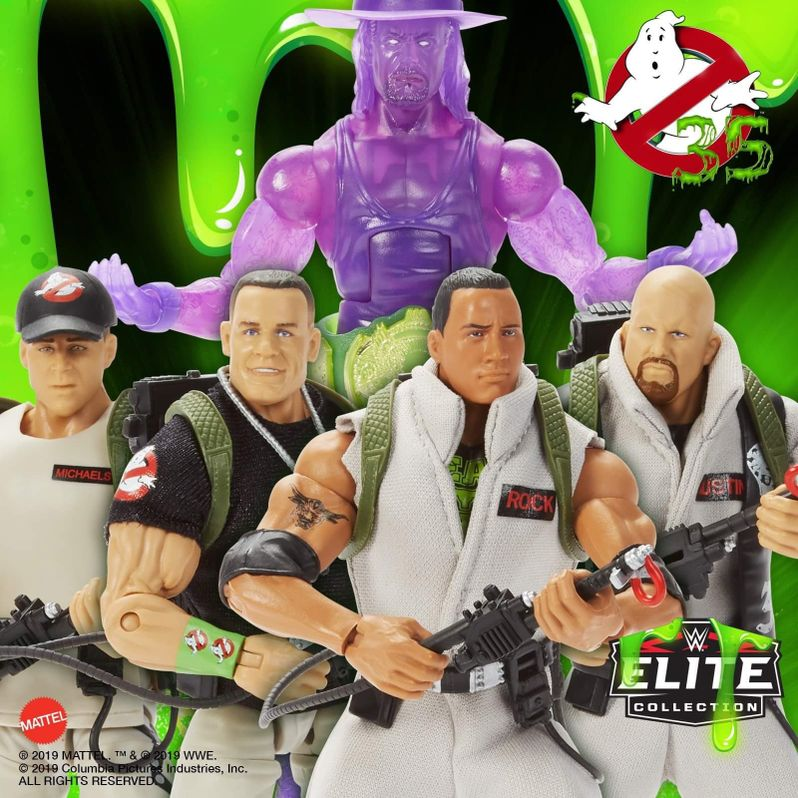 Ghostbusters WWE toys