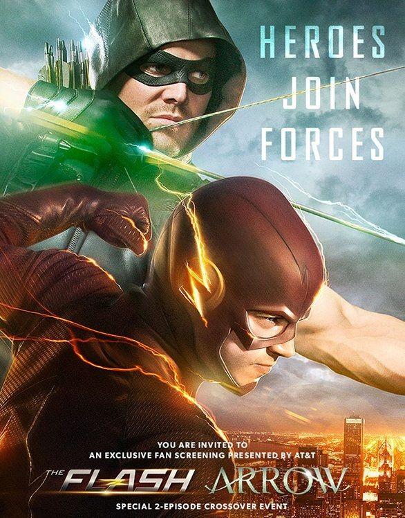 <strong><em>Arrow</em></strong> Flash Crossover Poster