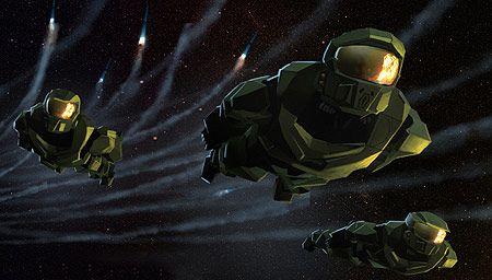 <strong><em>Halo</em></strong>: The Fall of Reach Concept Art
