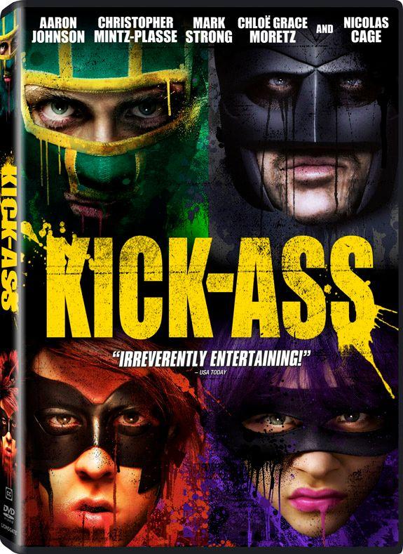 <strong><em>Kick-Ass</em></strong> DVD artwork