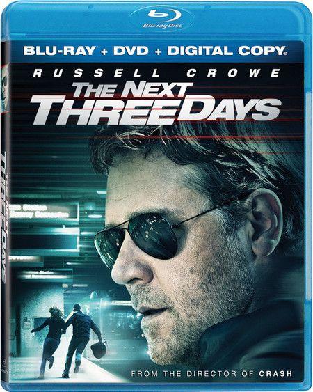 <strong><em>The Next Three Days</em></strong> Blu-ray artwork