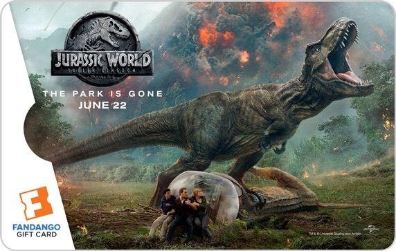 Jurassic World 2 Gift Card #2