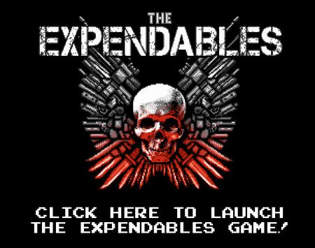 Play the Expendables 8-Bit Game