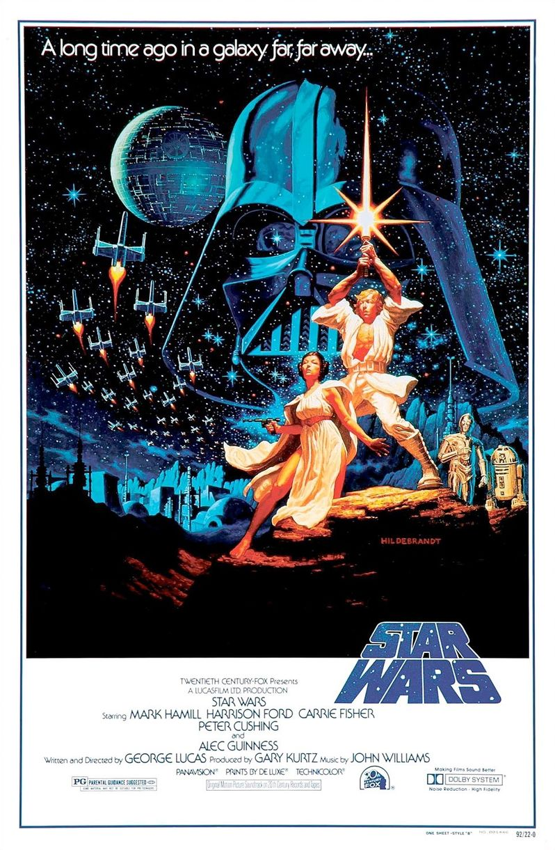 Star Wars Poster 1977