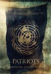 Patriots comic book cover art