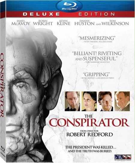 <strong><em>The Conspirator</em></strong> Blu-ray artwork