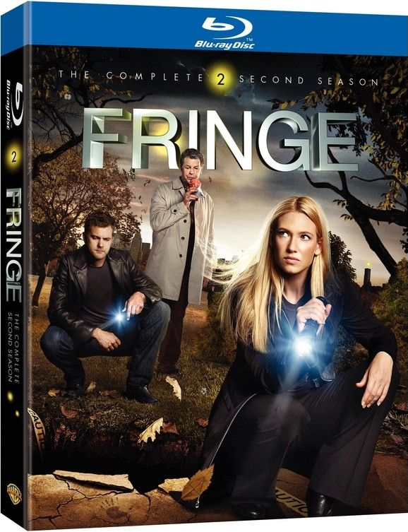 <strong><em>Fringe</em></strong>: The Complete Second Season Blu-ray artwork