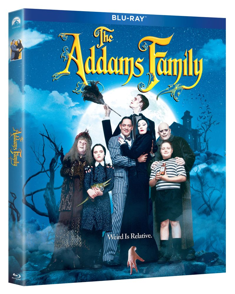 <strong><em>The Addams Family</em></strong> blu-ray 2019