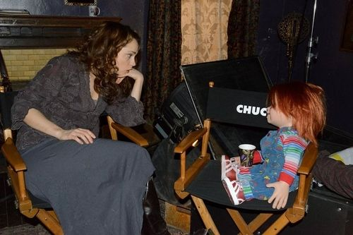<strong><em>Curse of Chucky</em></strong> On Set Photo 1